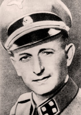 portrait of Adolf Eichmann from encontrarte.aporrea.org